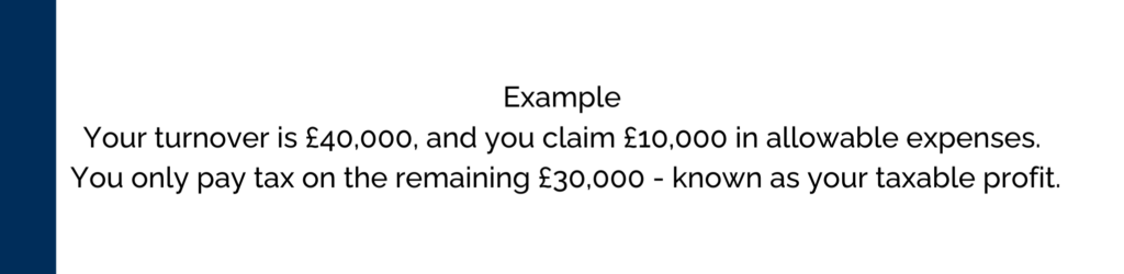 HMRC Taxable Expenses Example