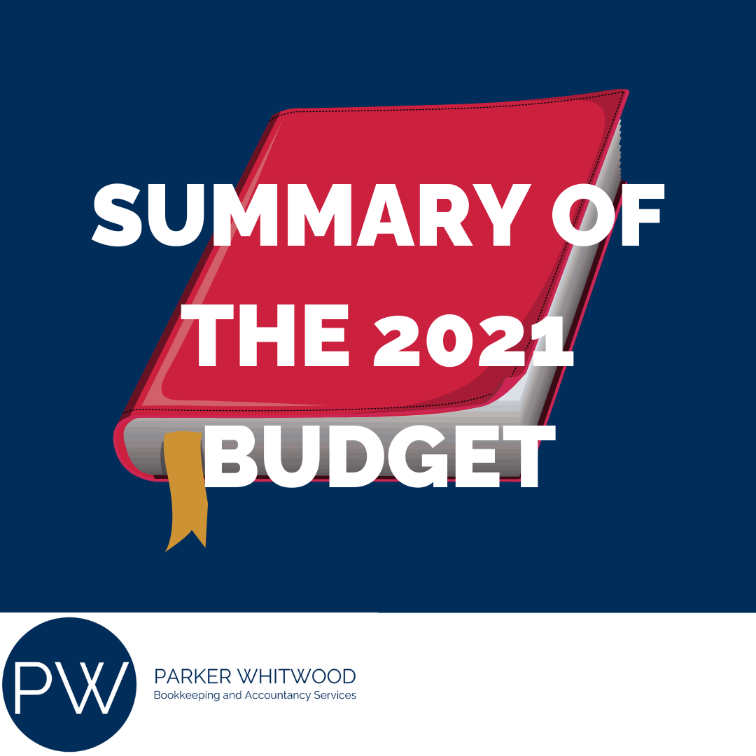 SUMMARY OF THE 2021 BUDGET ACCOUNTANTS IN ALTRINCHAM SOUTH MANCHESTER